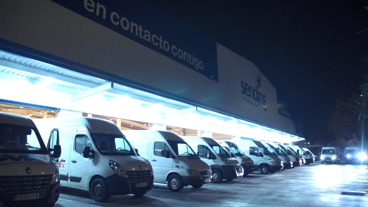 Video corporativo para Sending Transporte Urgente realizado por Alfonso Esteban de STB Estudio