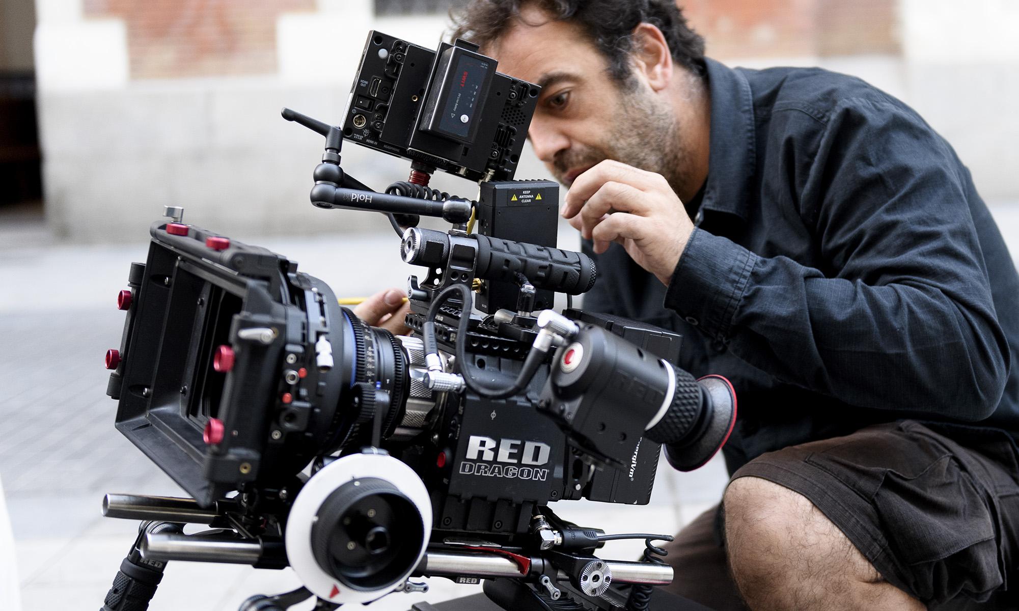 Making of y foto fija rodaje cortometraje, foto Alfonso Esteban (STB Estudio)
